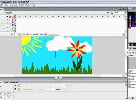 Macromedia Flash 8 - Applying and Stylizing Strokes | PopScreen