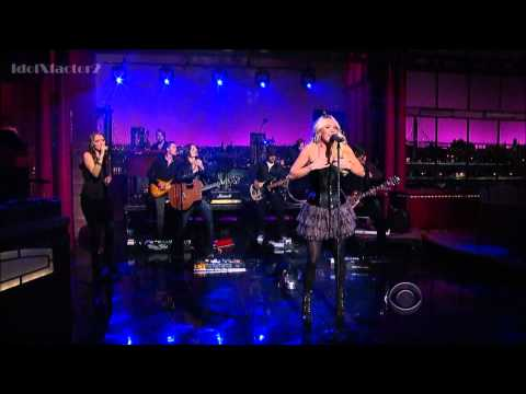 [HD] Carrie Underwood - Good Girl - David Letterman 4-30-12 | PopScreen