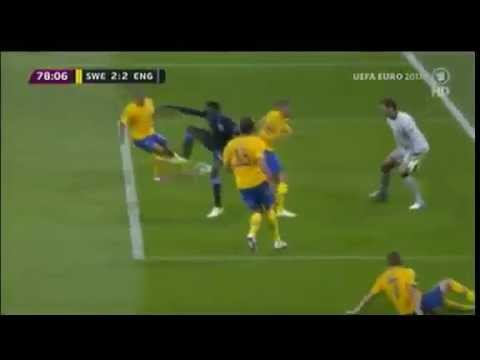 Welbeck Amazing Backheel Goal vs Sweden - England vs Swedeen 3-2 EURO 2012 - 15 JUNE 2012 | PopScreen