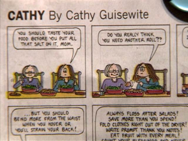 Aack! 'Cathy' comic ends 34-year run | PopScreen