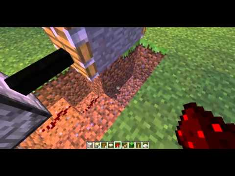 minecraft how to make a 3x2 piston door with button