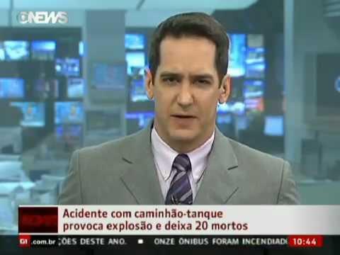 Acidente Com Caminhão-Tanque Provoca Explosão E Deixa 20 Mortos | PopScreen