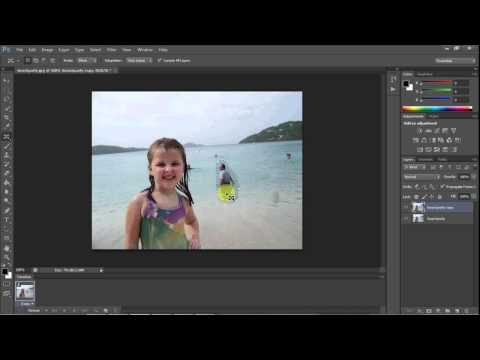 Adobe Photoshop CS6 Use Of Content Aware Move Tool Tutorial .