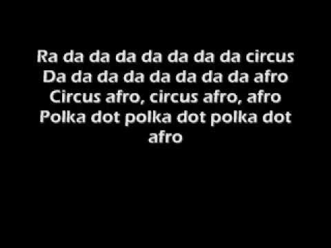 Circus afro song lyrics