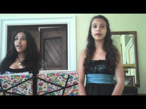 Miranda Wilson and Cassidy Villafranca singing Pie Jesu | PopScreen