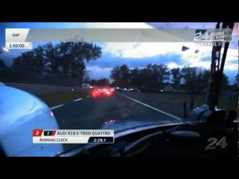 Tom Kristensen Audi R18 e-tron quattro Onboard 2012 Le Mans 24 Hours Qualifying | PopScreen
