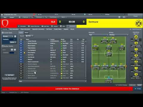 Football Manager (Borussia Dortmund) Ep 31 (Benfica - Champions League - 1st Round - First Leg) | PopScreen