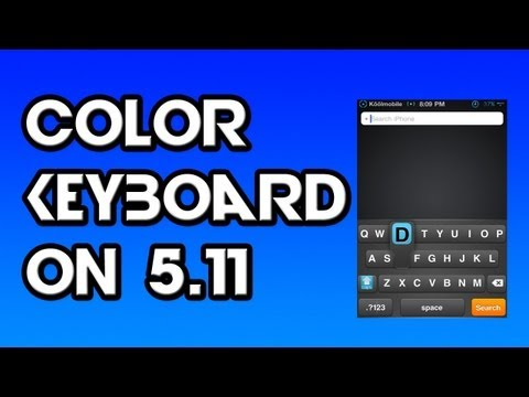 How To Get Colour Keyboards 5.11 On iPod Touch/iPhone/iPad | PopScreen