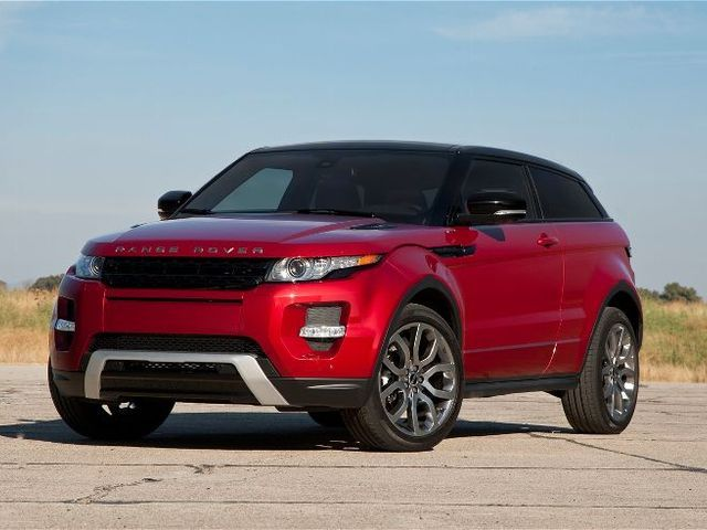 2012 land rover range rover evoque coupe first test. Black Bedroom Furniture Sets. Home Design Ideas
