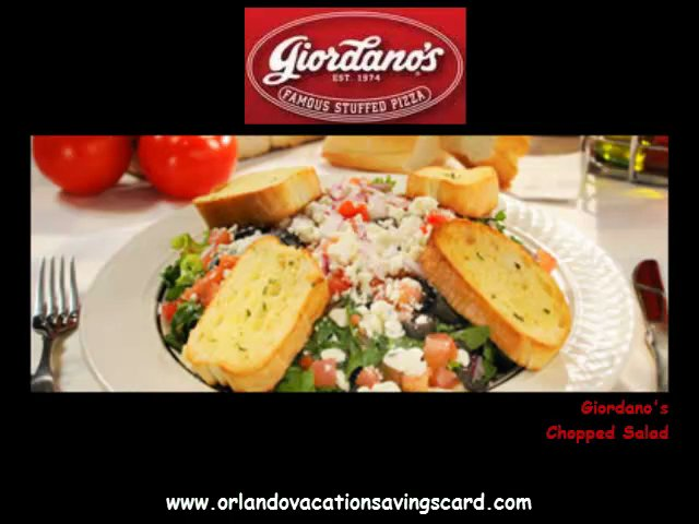 Giordano's coupons orlando