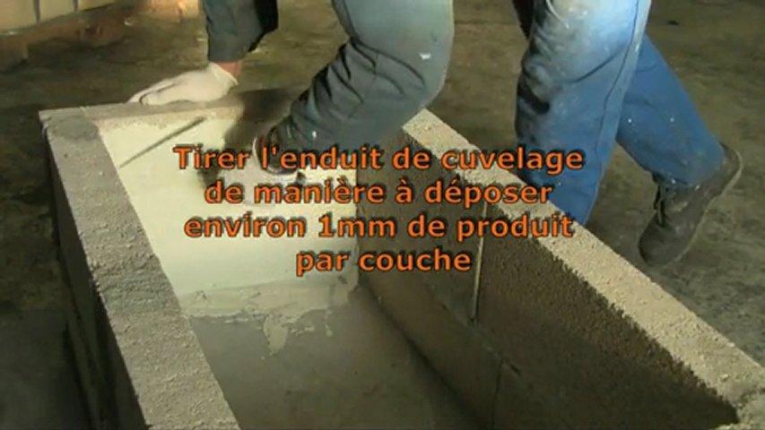 ENDUIT DE CUVELAGE PISCINE BASSIN CAVE GARAGE RESERVOIR CITE | PopScreen