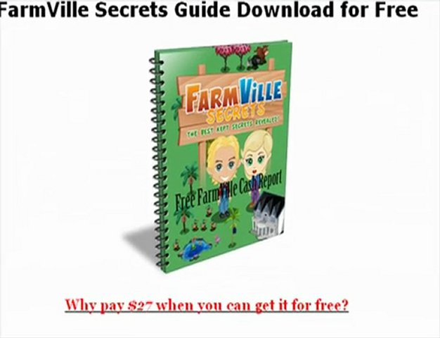 2012 Free Generator Now Version How to get farmville cheats for free