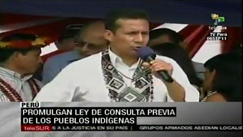 Perú: promulgada ley de consulta previa de pueblos indígenas | PopScreen