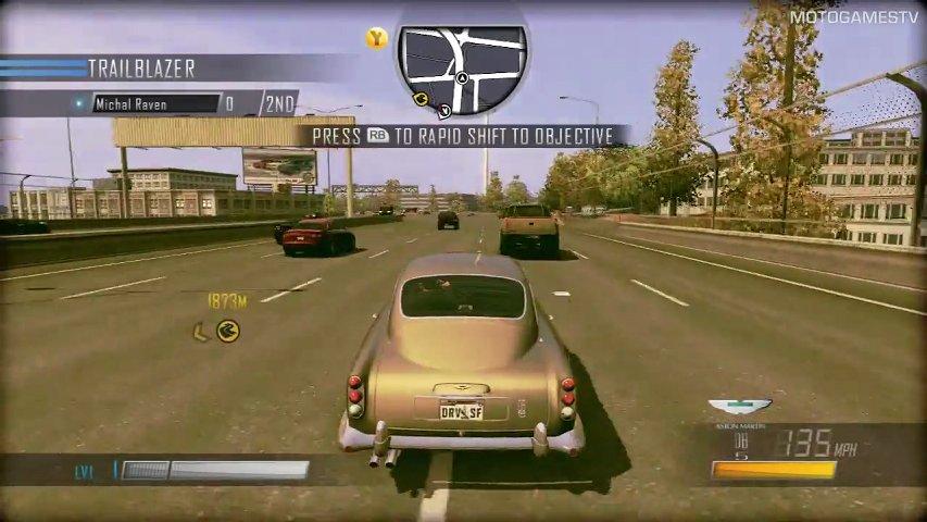 Driver San Francisco Xbox 360 Multiplayer Demo - Aston ...