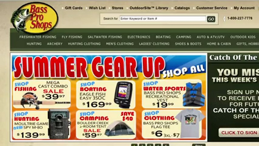 Bass pro shops coupon code