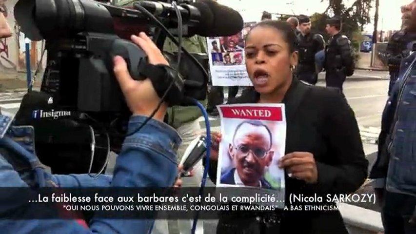 CONGOLAIS ET RWANDAIS CONTRE KAGAME  EN FRANCE. | PopScreen