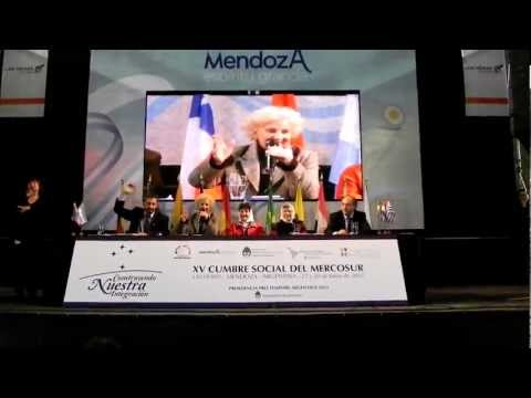 CUMBRE SOCIAL DEL MERCOSUR MENDOZA 2012 | PopScreen
