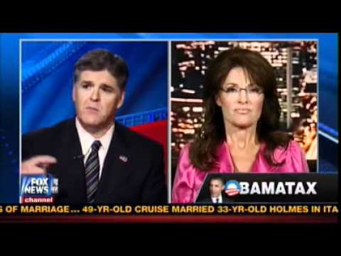Gov. Palin talks to Hannity - June 29, 2012 | PopScreen