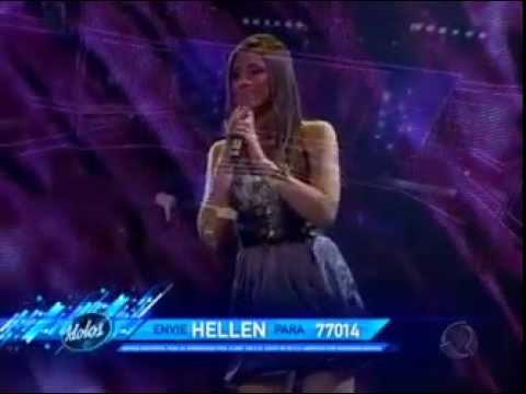Ídolos 2011 Hellen Caroline canta Por Enquanto 28/06/2011 | PopScreen