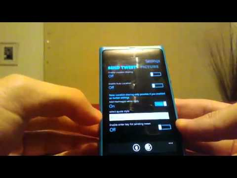 Lumiappaday #213 : Twabbit demoed on the Nokia Lumia 800 (twitter client) | PopScreen