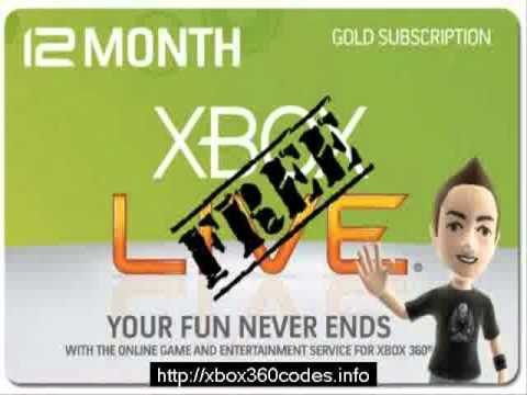 Xbox Live Gold Trial Code