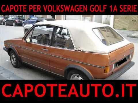 capote cappotta per volkswagen golf 1a prima serie auto cabrio popscreen. Black Bedroom Furniture Sets. Home Design Ideas