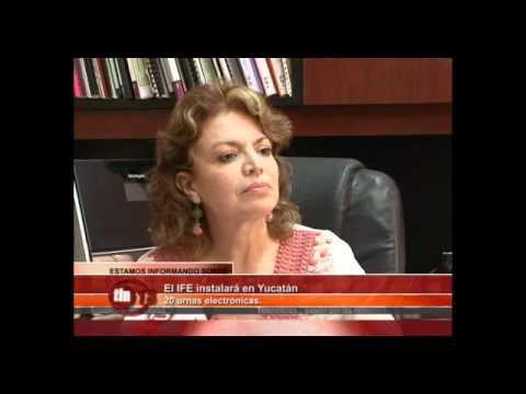 El IFE instalará en Yucatán 20 urnas electrónicas | PopScreen