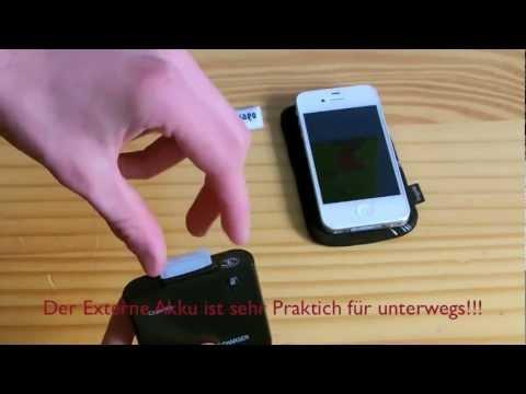 Review - YAYAGO Externer Akku / Lader 1900 mAh in Schwarz für Ihr Apple iPhone 4 4S iPod | PopScreen