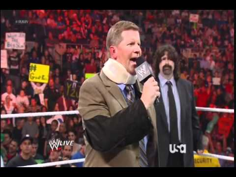 WWE RAW 06/18/12 PT 1 | PopScreen