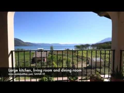 Lake Atitlan House for rent San Juan La Laguna waterfront | PopScreen