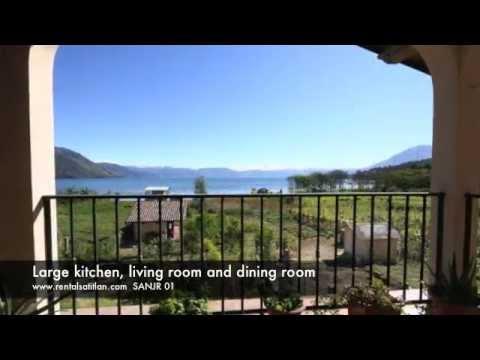 Lake Atitlan House for rent San Juan La Laguna waterfront | PopScreen