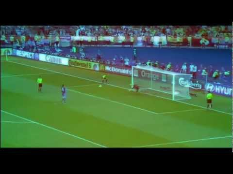 Andrea Pirlo Penalty vs England 25/06/2012 - EURO 2012 (Italy vs England - Quarterfinals) | PopScreen