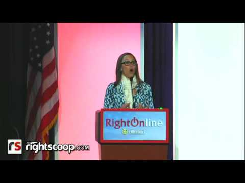 S.E. Cupp at Right Online 2012