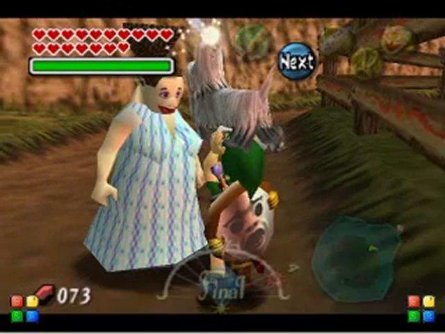 Zelda Majora S Mask Dog Race