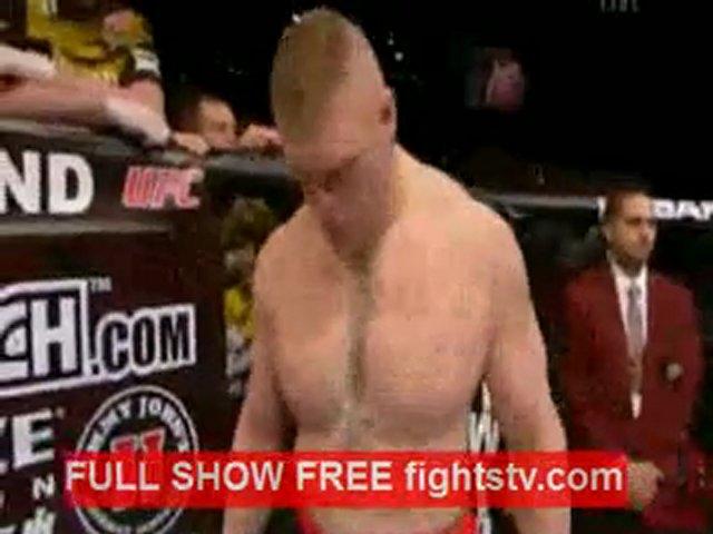 Brock Lesnar vs Alistair Overeem full fight | PopScreen