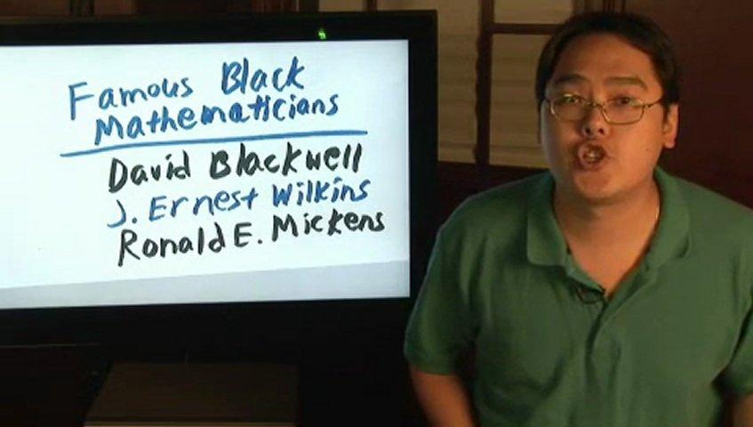 Famous Black Women Famous Black Mathematicians