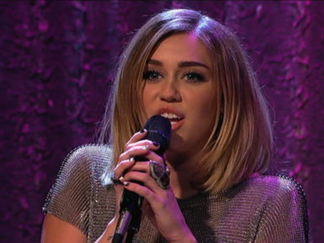 Jimmy Kimmel Live _ Miley Cyrus: Gonna Make Me Lonesome | PopScreen