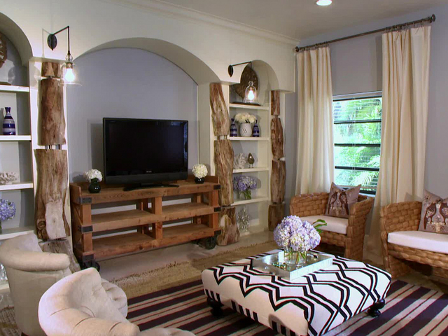 Remodelaholic Beach Themed Living Room Pics Photos Beach Theme ...
