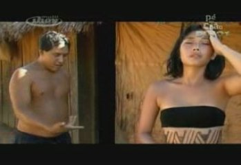 Daniele Suzuki nua em uma tribo indígena | PopScreen