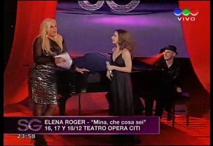 Elena Roger - Un año de Amor, luego entrevista con Susana | PopScreen