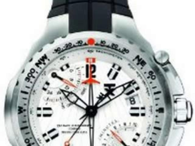 TX Men's T3B881 700 Series Sport Fly-back Chronograph Dual-Time Zone Watch | PopScreen