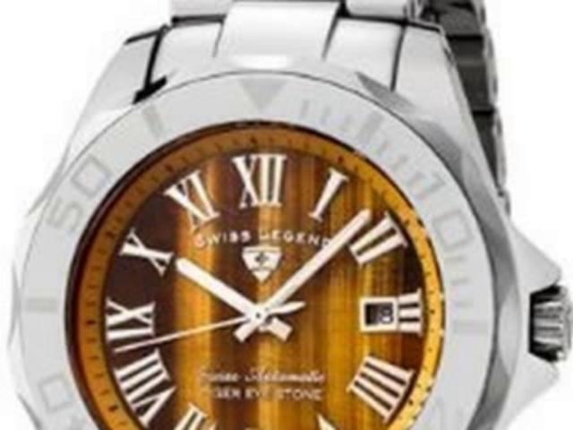 Men's Tiger Eye Stone Dial Tungsten | PopScreen