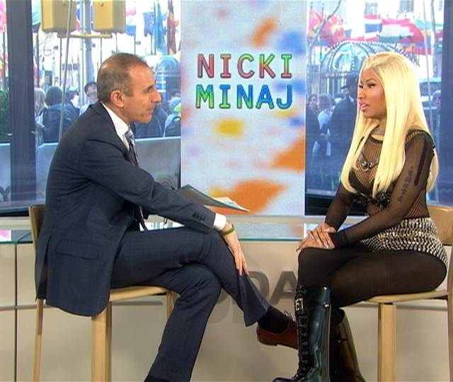 Nicki Minaj talks style, musical inspiration | PopScreen