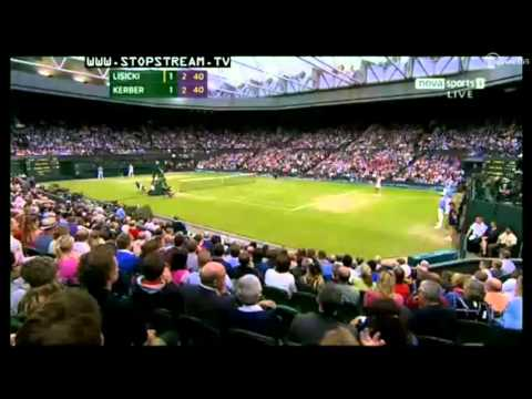 Angelique Kerber applauds to Sabine Lisicki Wimbledon 2012 | PopScreen