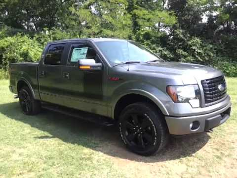 2012 FORD F-150 SUPERCREW FX4 APPEARANCE PACKAGE 365HP FORD OF