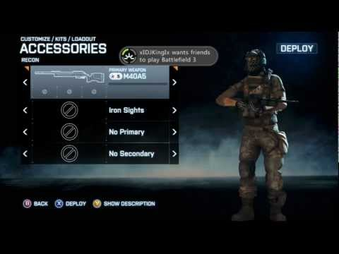 Battlefield Classes Unlocks Battlefield 3 M40a5 Unlocks