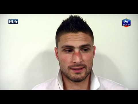 Equipe de France - réaction d'Olivier Giroud après Suède-France | PopScreen