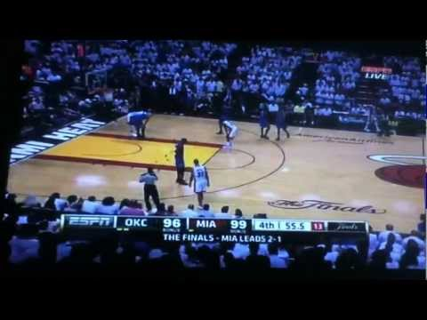 NBA Miami Heat vs Oklahoma City Thunder Game 4 2012 | PopScreen