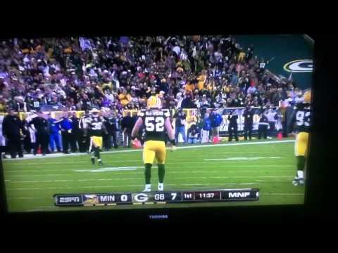 Clay Matthews sack!!! | PopScreen