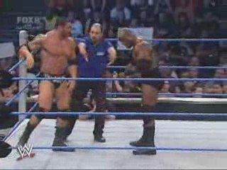 Batista vs. Bobby Lashley | PopScreen